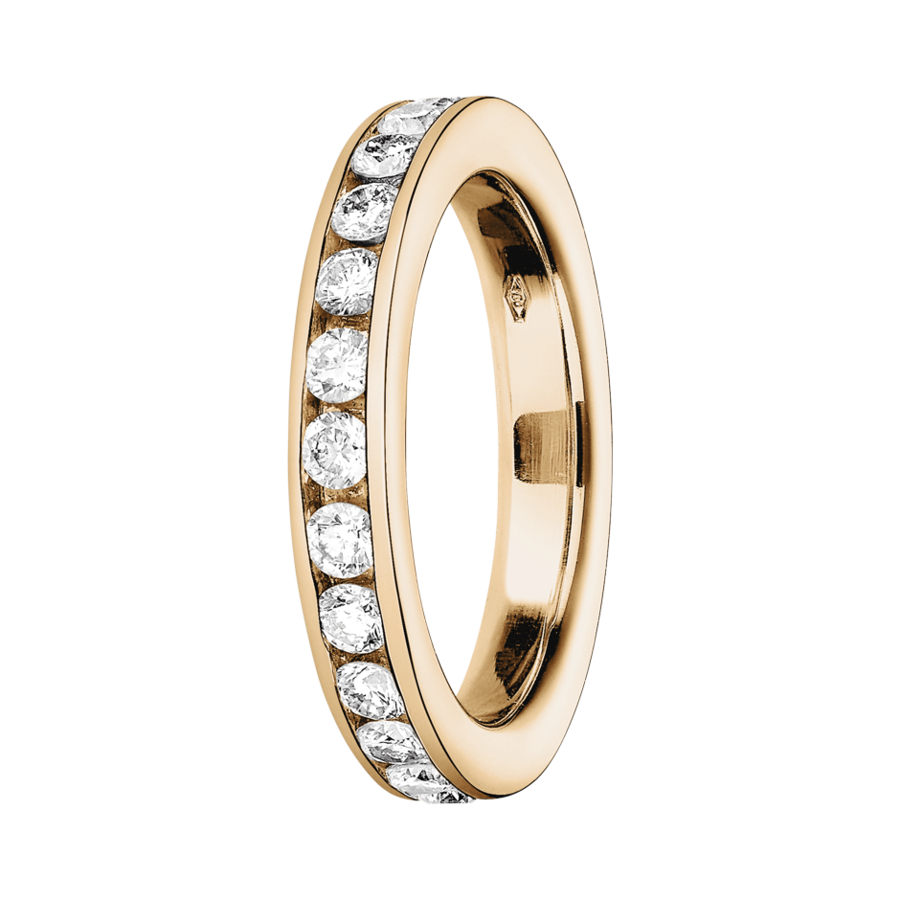Eternity Ring Amsterdam G VS in Rose Gold