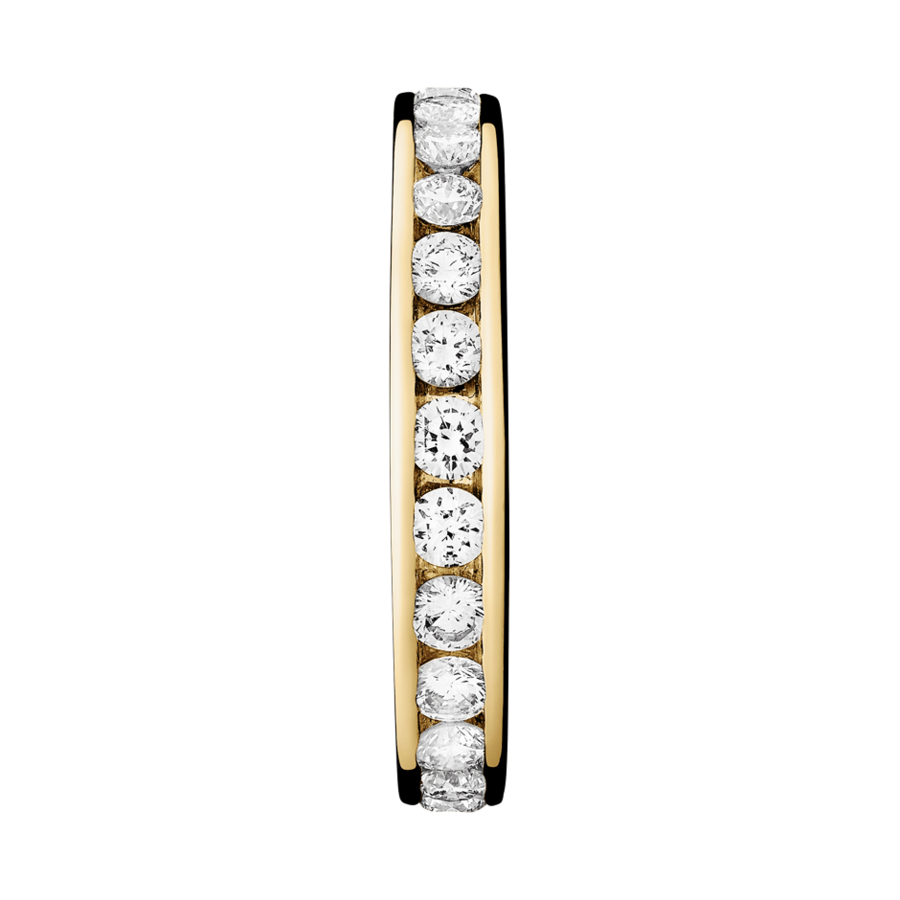 Eternity Ring Amsterdam G VS in Yellow Gold