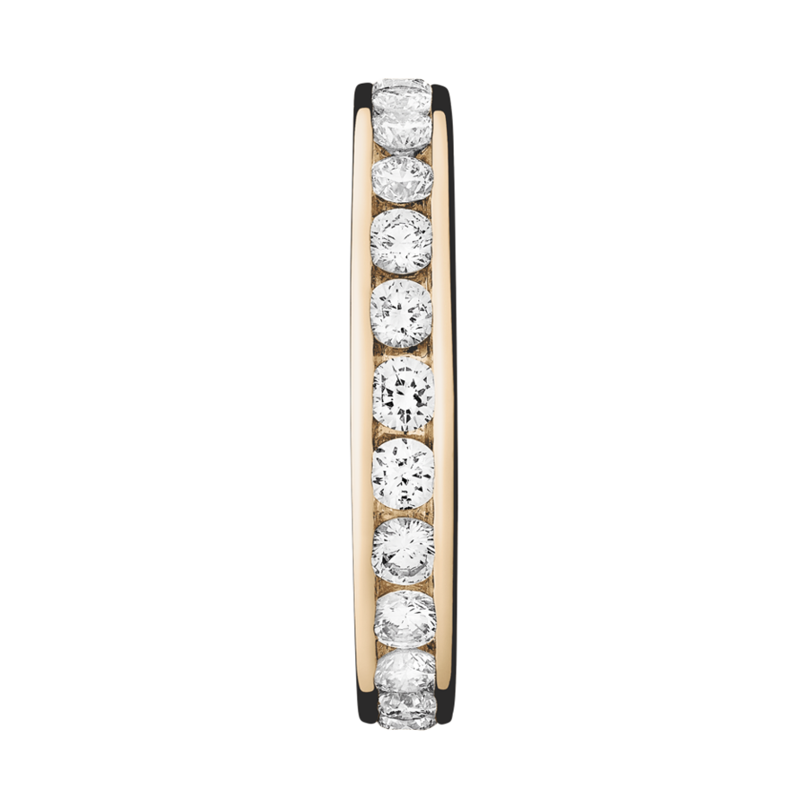 Eternity Ring Amsterdam H SI in Rose Gold