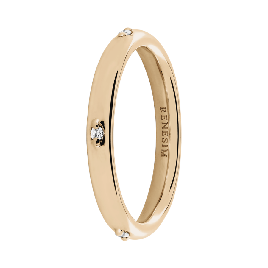 Eternity Ring Capri in Rose Gold