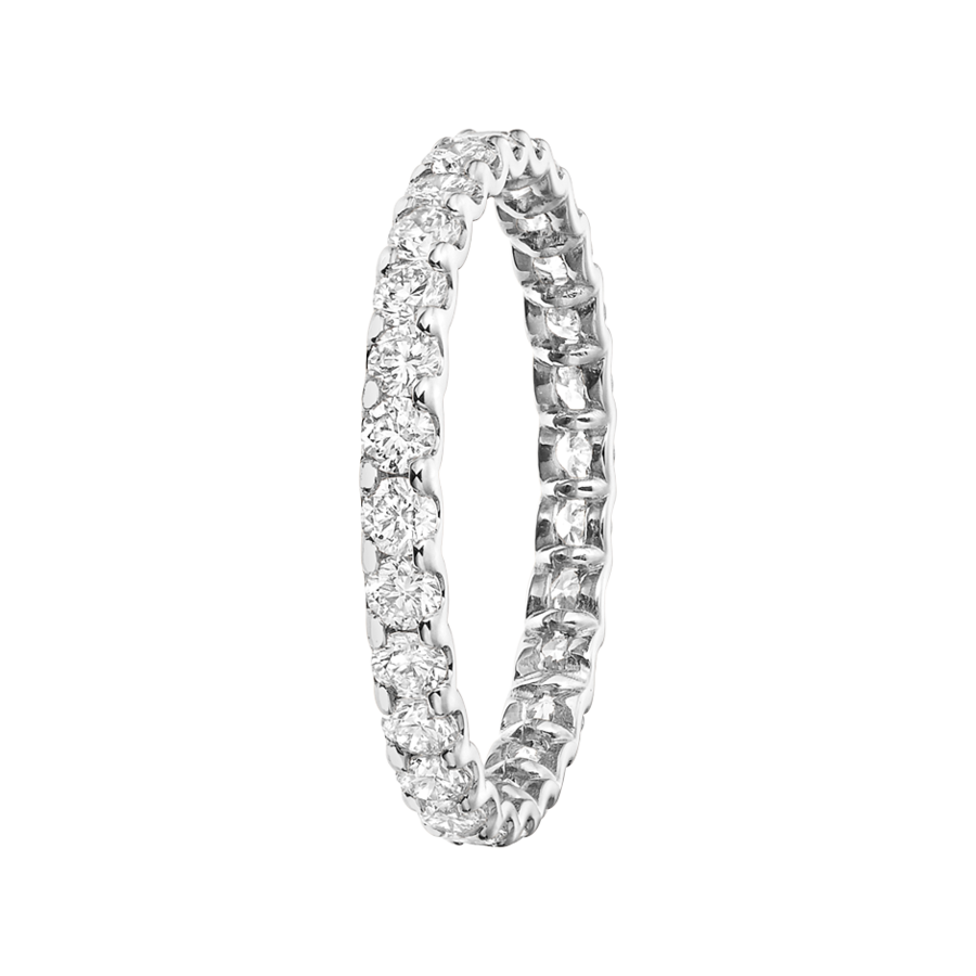 Eternity Ring Hamburg H SI in Platinum
