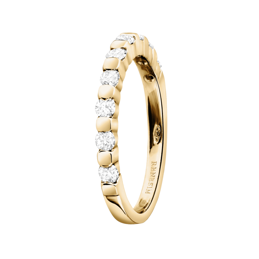 Eternity Ring Knokke H SI in Yellow Gold