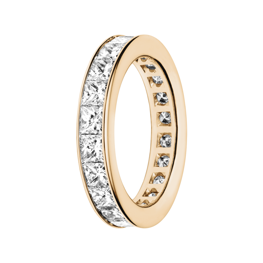 Eternity Ring Macao in Rose Gold