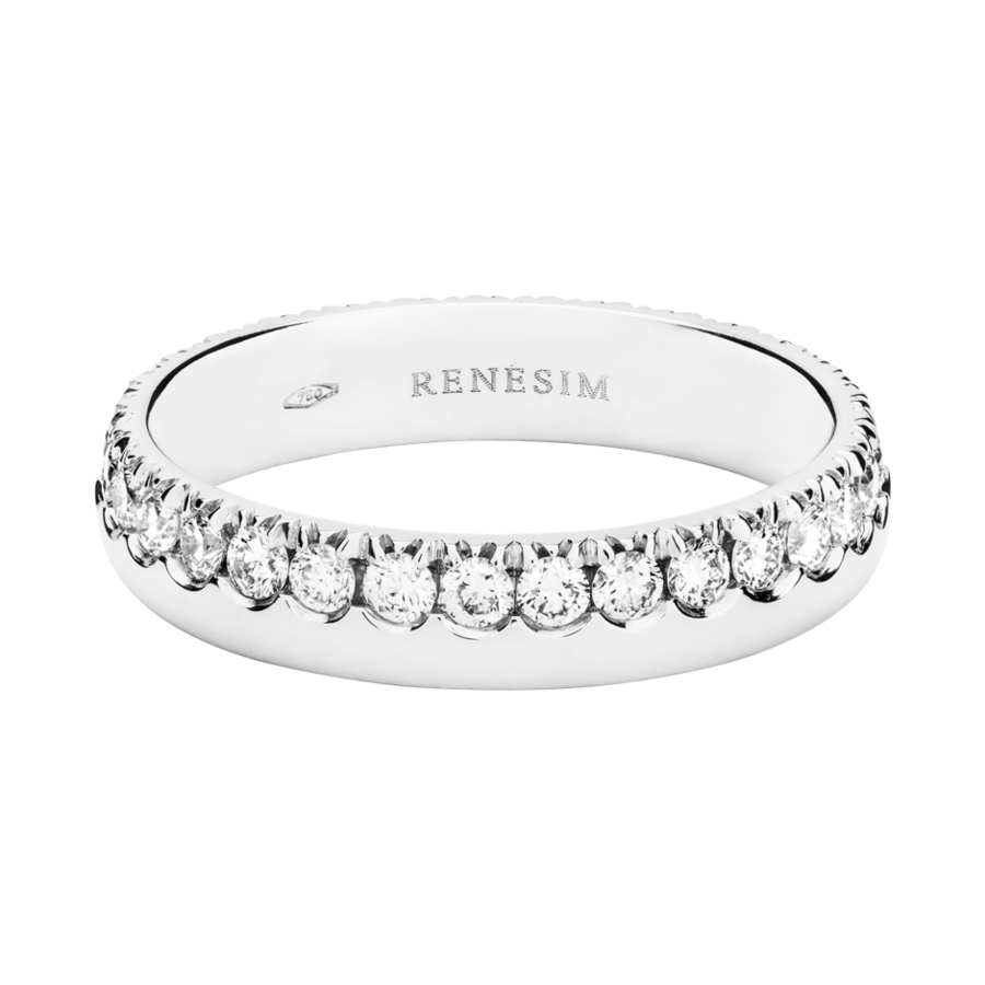 Eternity Ring Oxford G VS in White Gold