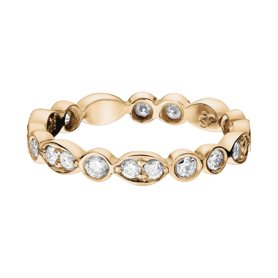 Eternity Ring Porto Cervo in Rose Gold