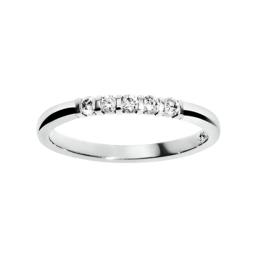 Eternity Ring Rotterdam H SI in White Gold