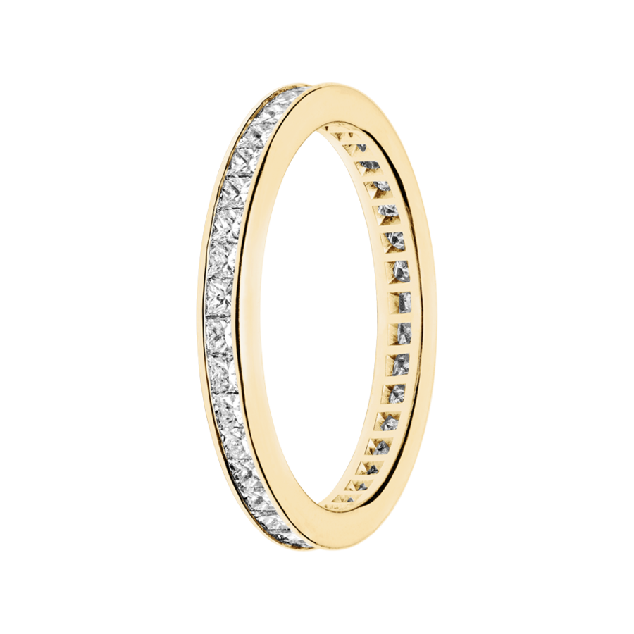 Eternity Ring Siena in Yellow Gold