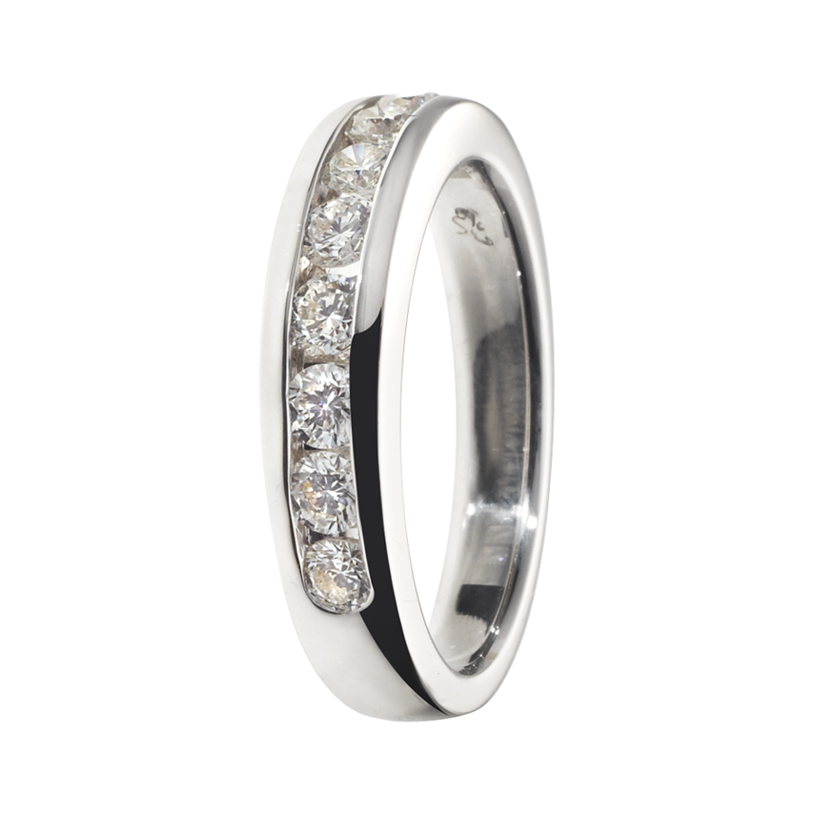 Eternity Ring Tallinn G VS in Platinum