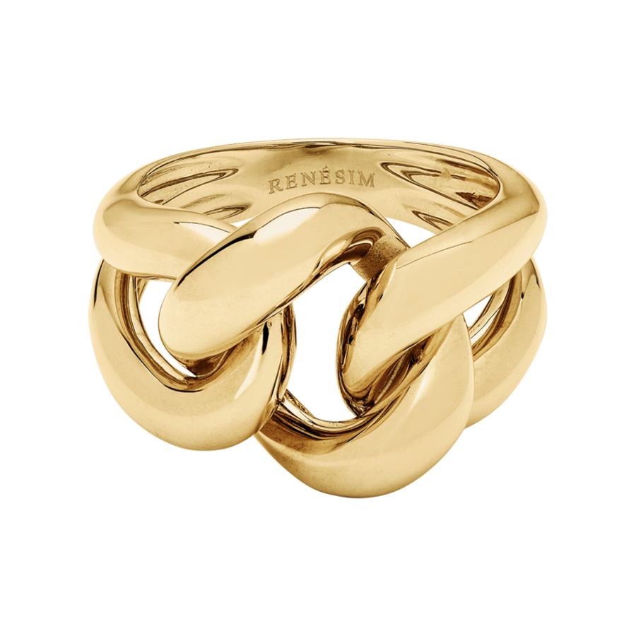 Knotenring Classics in Gelbgold