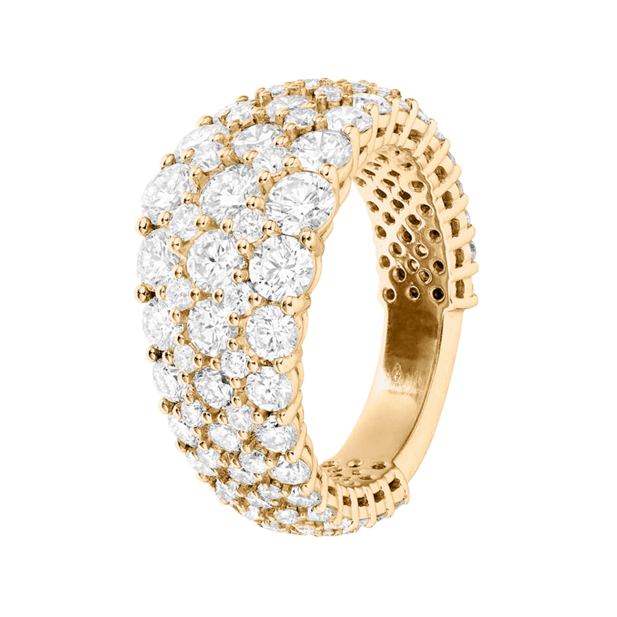 Memoire Ring Guernsey in Gelbgold