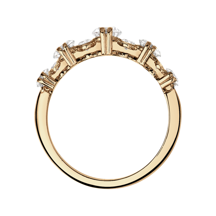 Memoire Ring Stavanger in Roségold