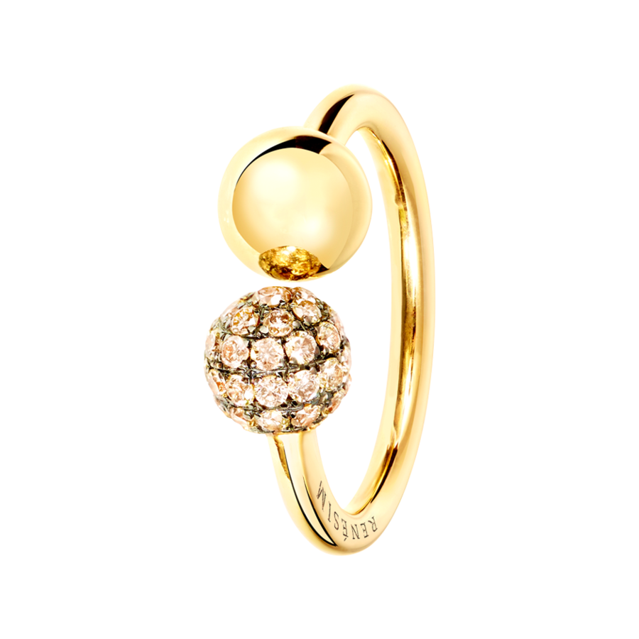 Ring Rosé & Diamant in Roségold