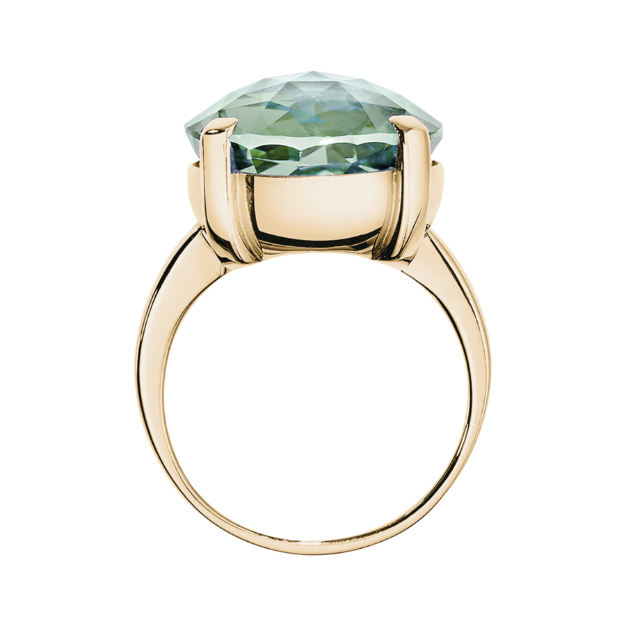 Rocks Cocktail Ring in Rose Gold