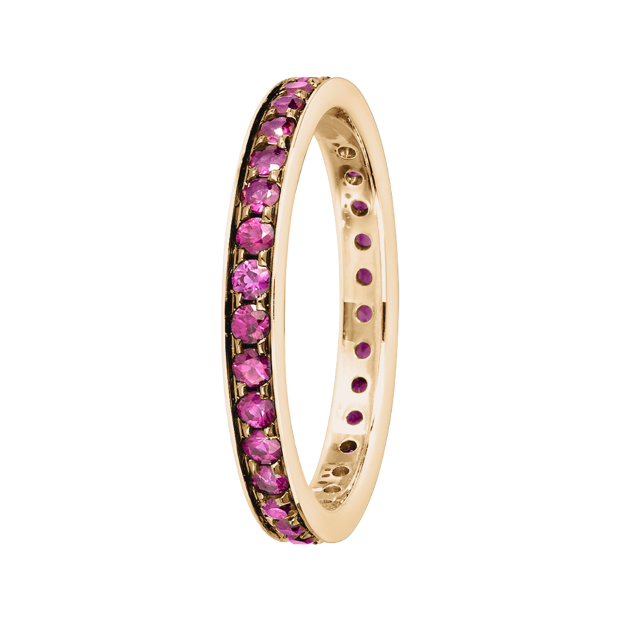 Romance Eternity Ring in Rose Gold