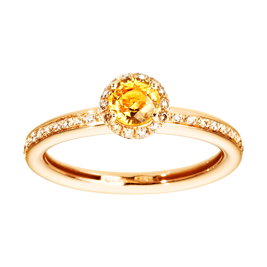 Romance Ring in Roségold