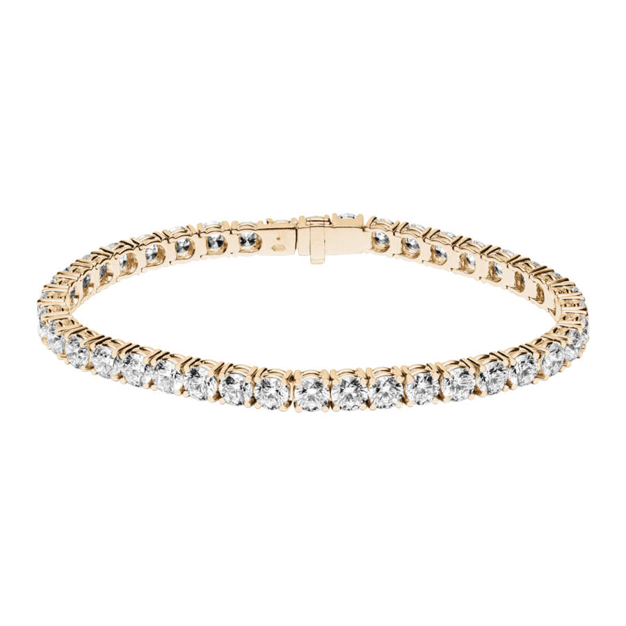 Tennisarmband 13,13ct in Roségold