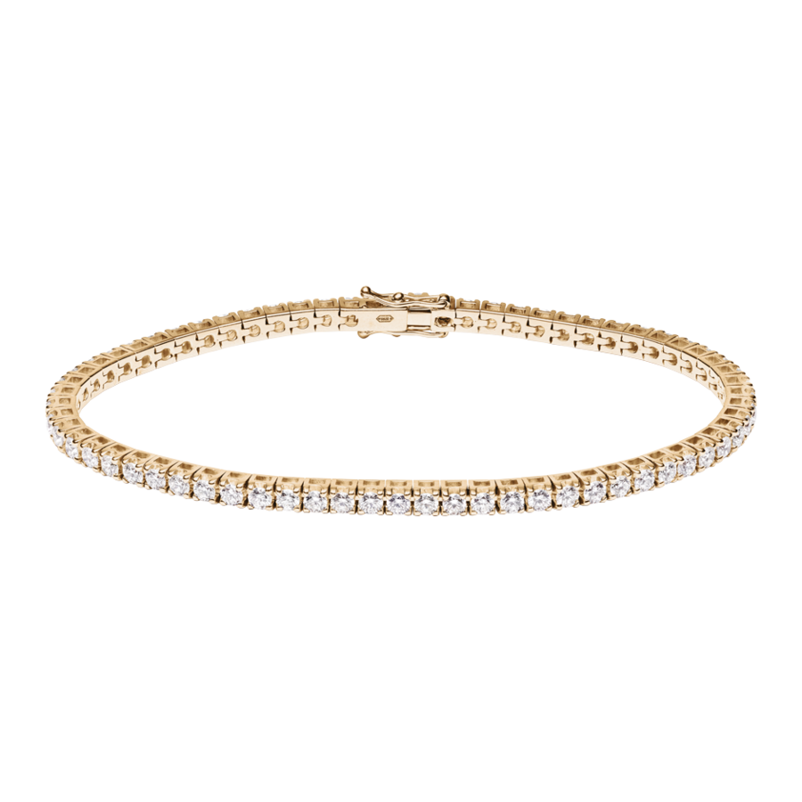 Tennisarmband 3,28ct in Roségold
