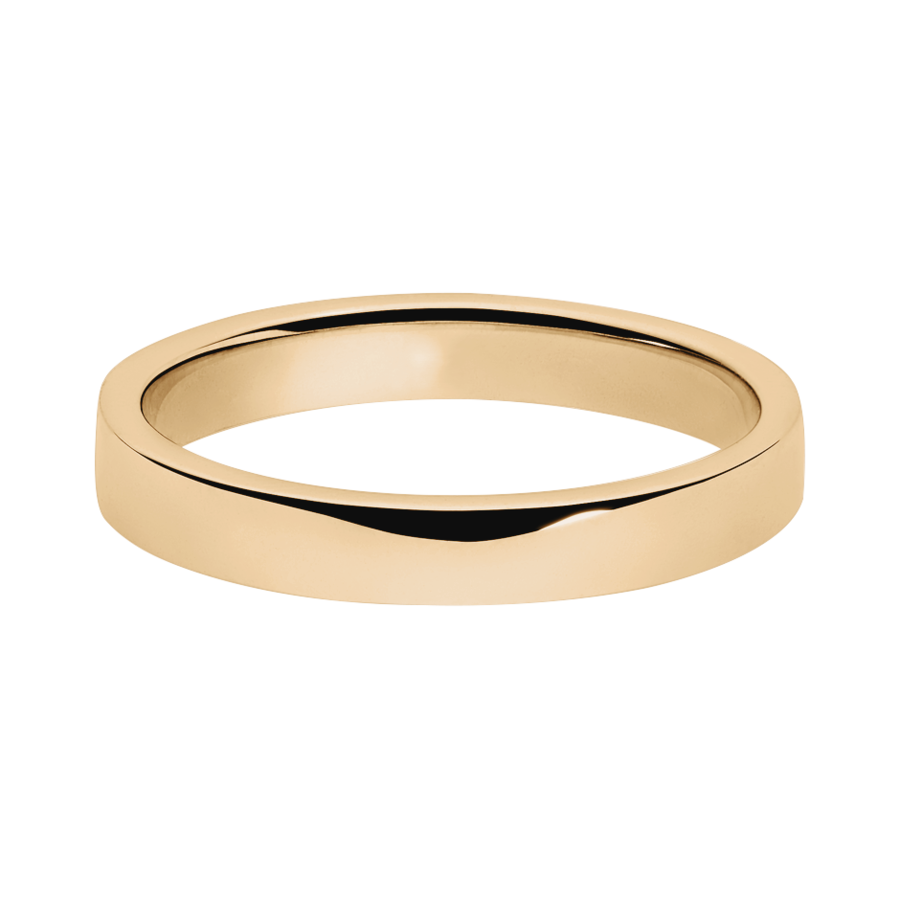 Trauringe mit Memoire Ring Nizza in Roségold