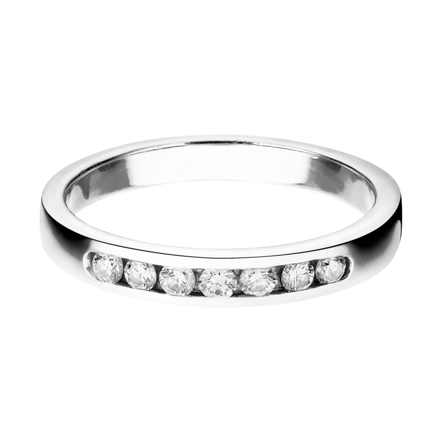 Trauringe mit Memoire Ring Tallinn in Platin