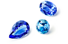 Pierres fines de couleur – Tanzanite