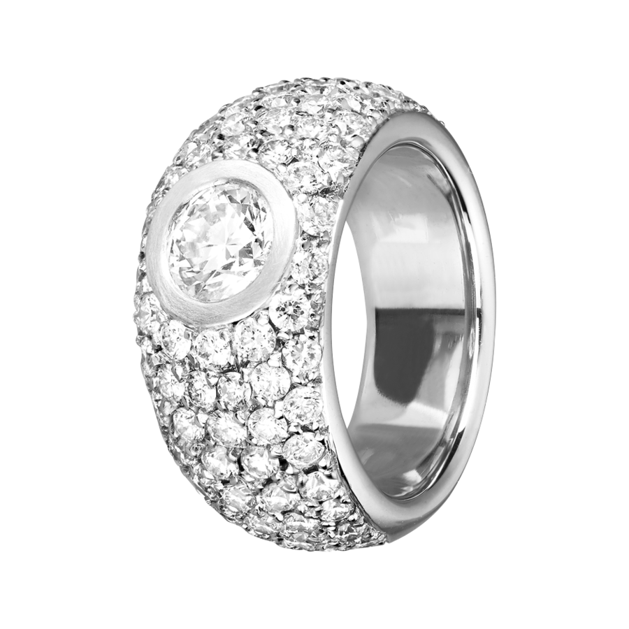 Diamond Snow Ring, € 11.490