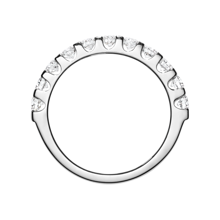 Eternity Ring Bergen G VS in Platinum