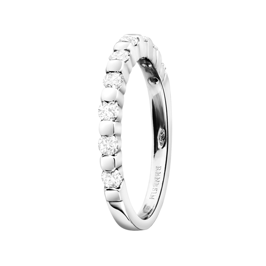 Eternity Ring Knokke H SI in White Gold