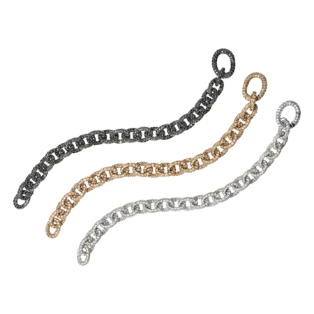 Anchor Chain Armband Champagner in Roségold
