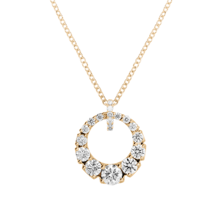 Diamantkette I in Roségold