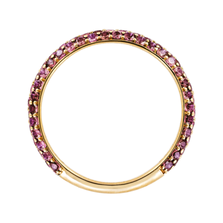 Ring Couleur Rose in Gelbgold