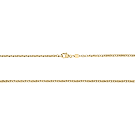 Anchor Chain Necklace in Yellow Gold