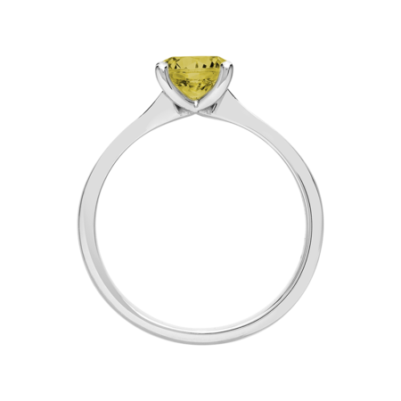 Basel Sapphire yellow in White Gold