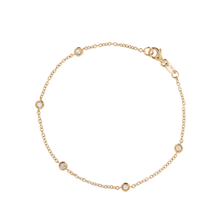 Bracelet Circuit 0.03 carat in Rose Gold