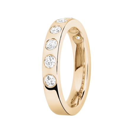 Eternity Ring Helsinki in Rose Gold
