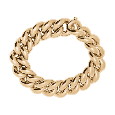 Gold Bracelet IV in Rose Gold