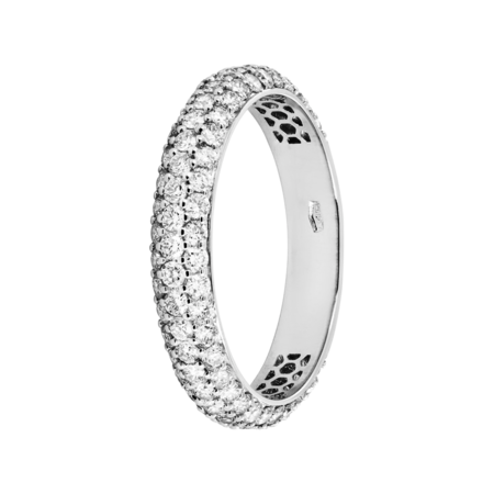 Ring Couleur Blanc in White Gold