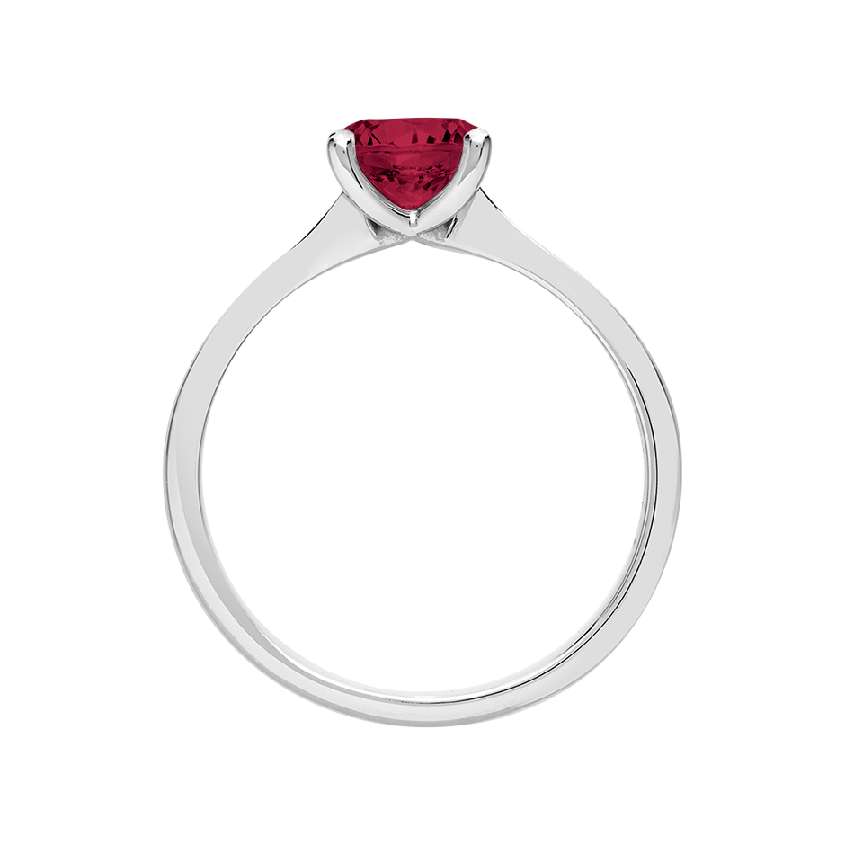 Basel Ruby red in Platinum