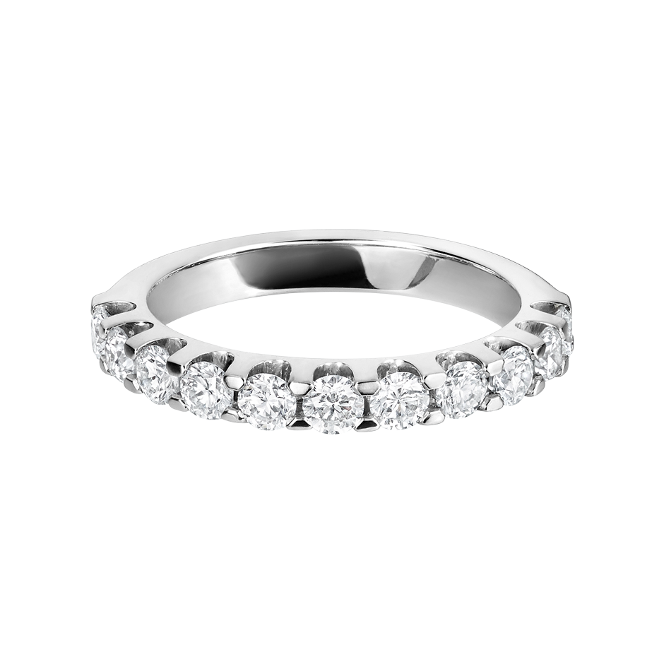 Eternity Ring Bergen H SI in Platinum