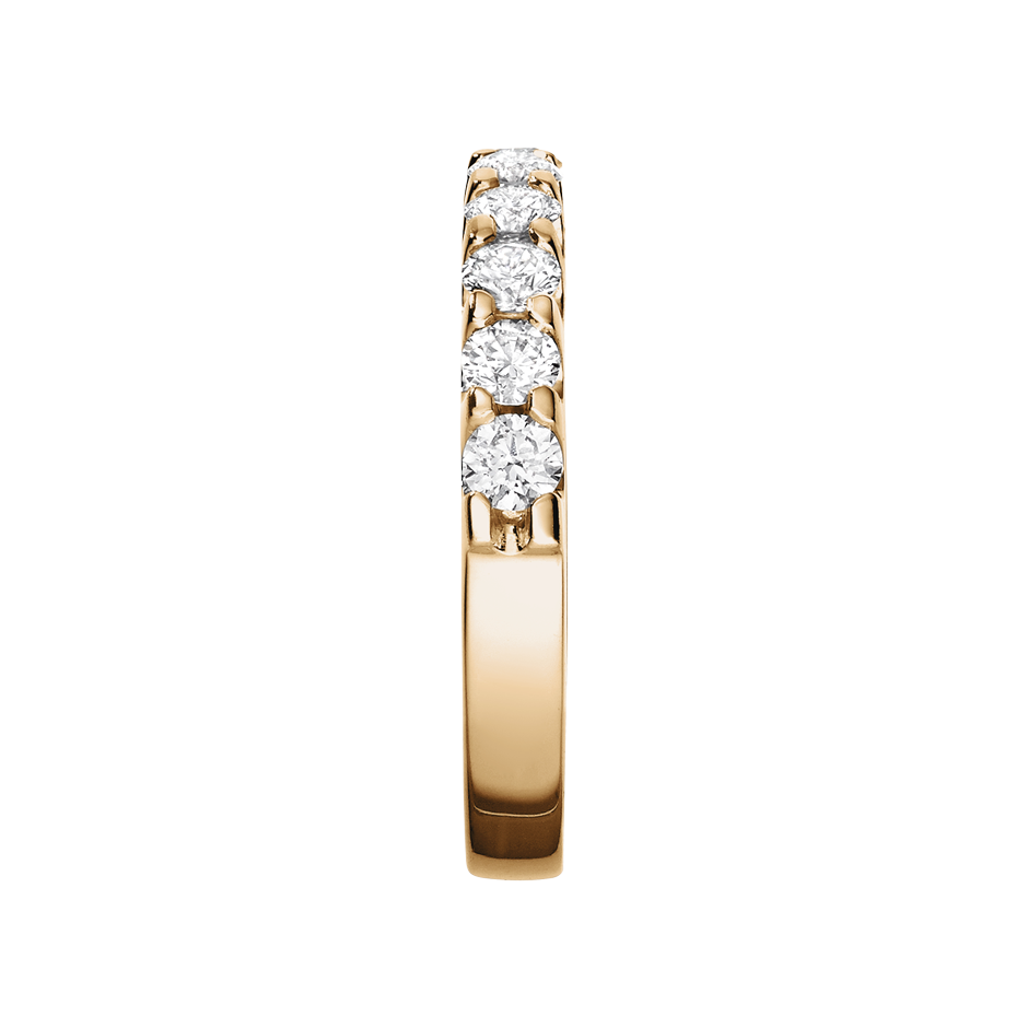 Eternity Ring Bergen H SI in Rose Gold