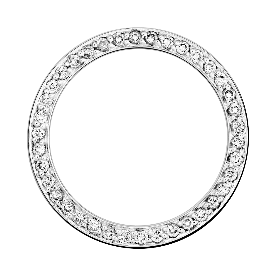 Eternity Ring Bologna in White Gold