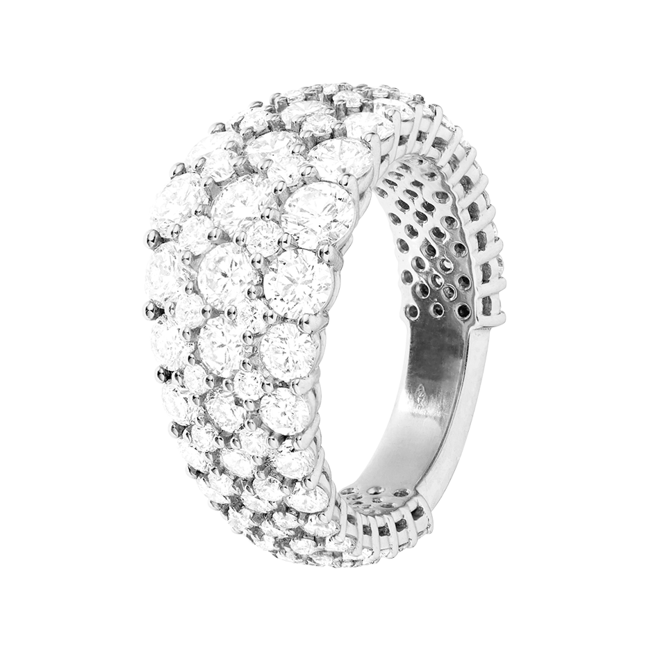 Eternity Ring Guernsey in White Gold