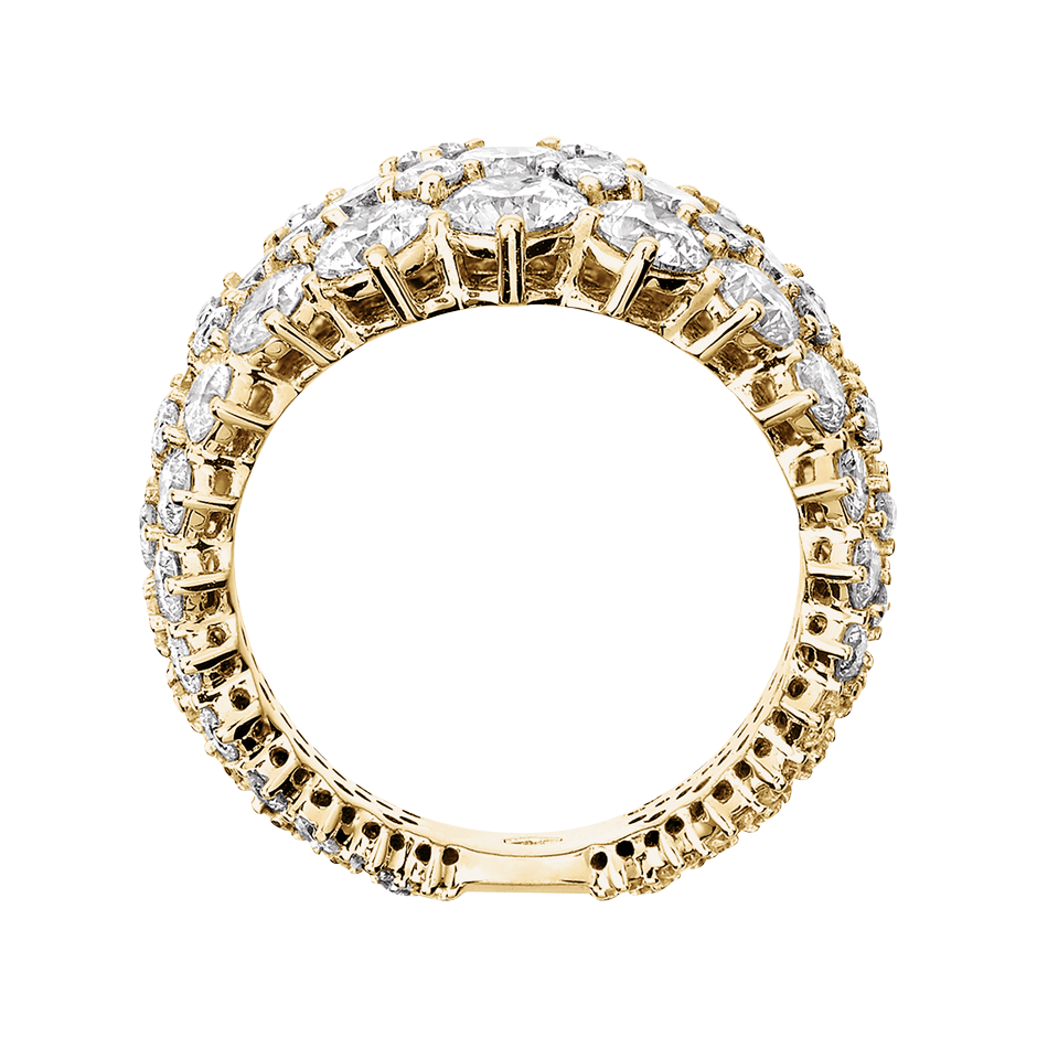 Eternity Ring Jersey in Yellow Gold