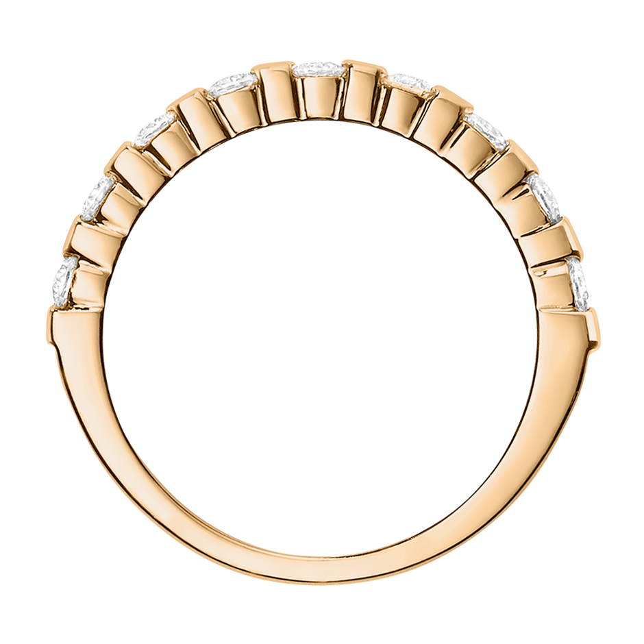 Eternity Ring Knokke G VS in Rose Gold