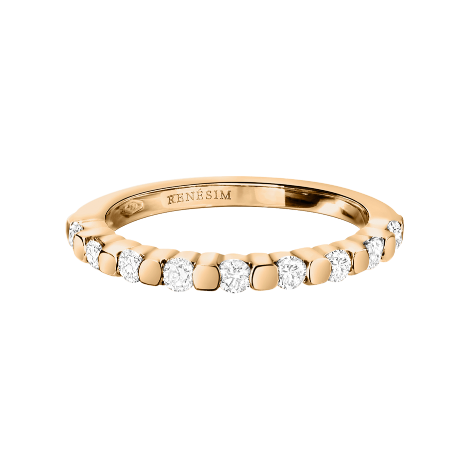 Eternity Ring Knokke H SI in Rose Gold