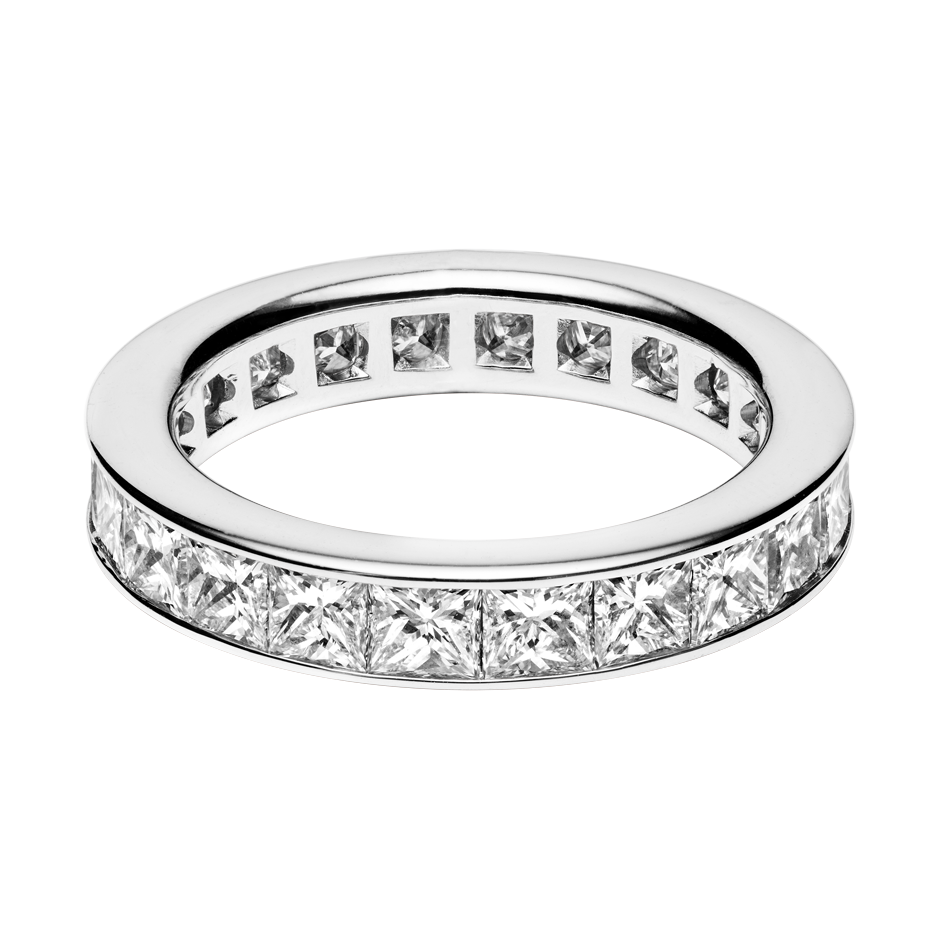 Eternity Ring Macao in White Gold