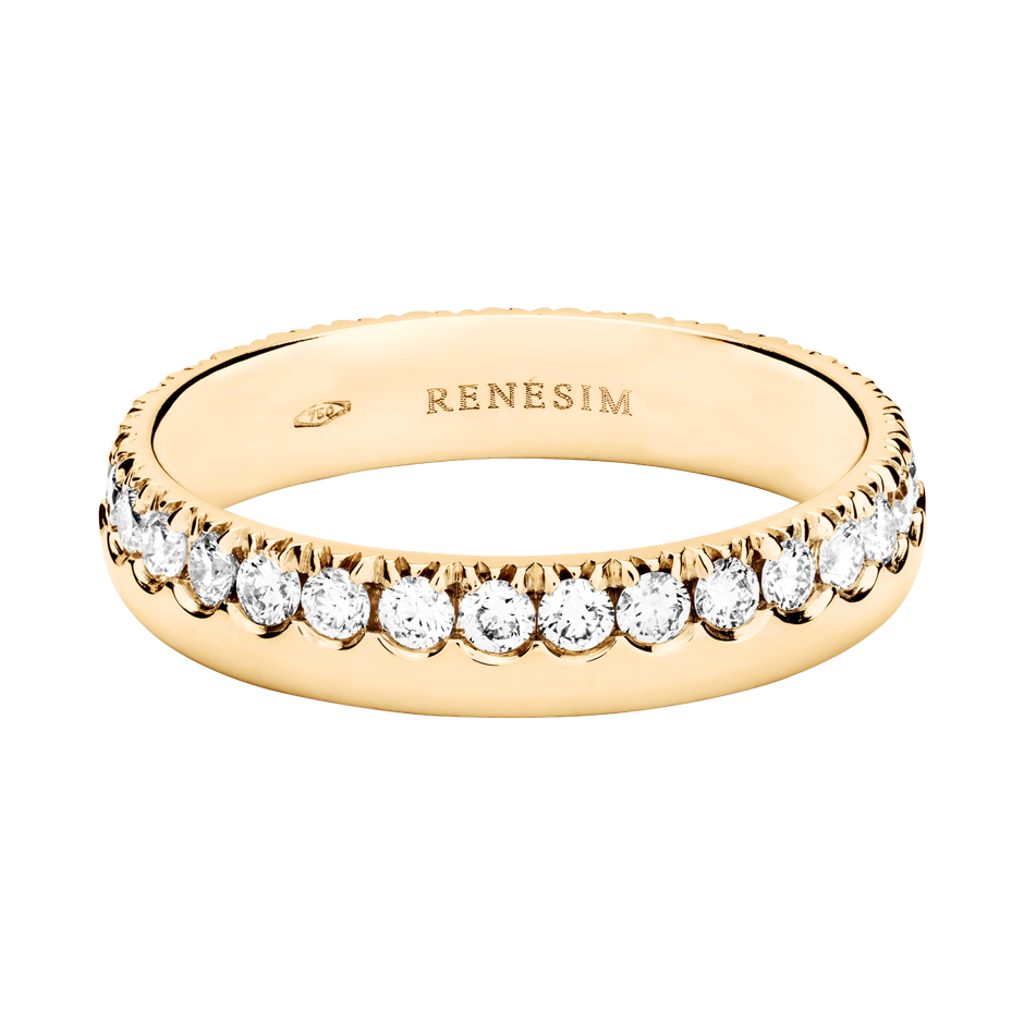 Eternity Ring Oxford H SI in Rose Gold