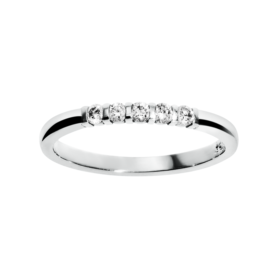 Eternity Ring Rotterdam G VS in Platinum
