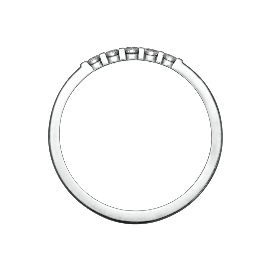 Eternity Ring Rotterdam H SI in Platinum