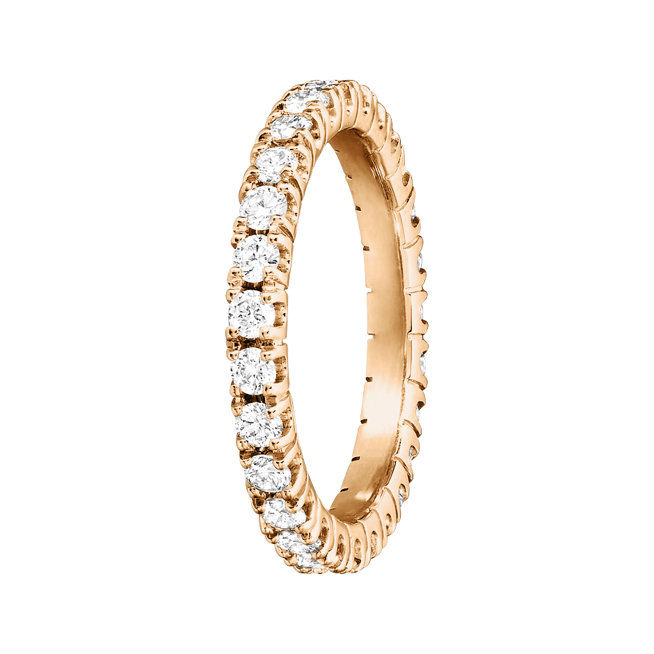 Eternity Ring Stockholm G VS in Rose Gold