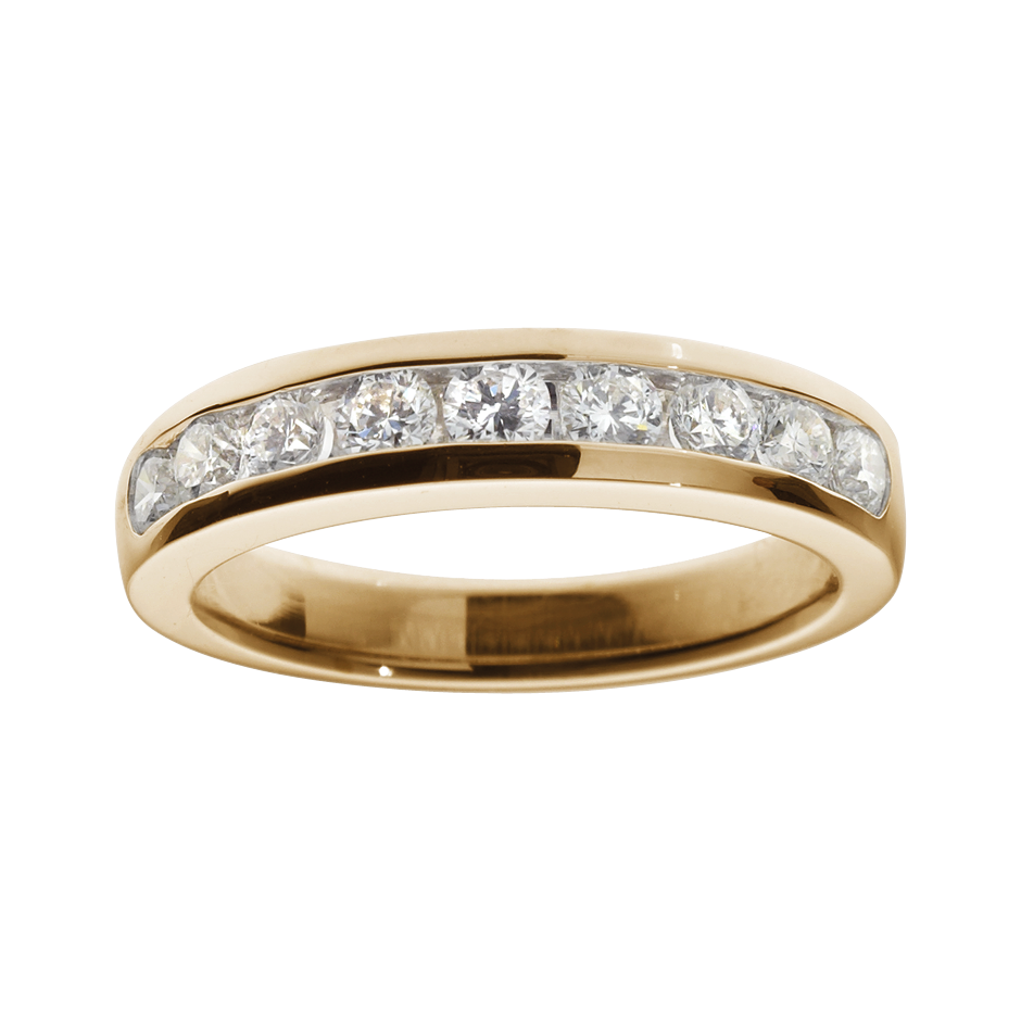 Eternity Ring Tallinn H SI in Rose Gold